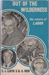 Out of the Wilderness - Clem Lloyd & Gordon Reid, Whitlam Government 1972-74 Paperback USED