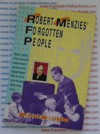 Robert Menzies Forgotten People - Judith Brett USED