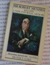 Sir Robert Menzies - A New Informal Memoir - Sir Percy Joske - USED