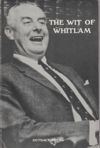 The Wit of Whitlam - Dean Wells 1976 - Gough Whitlam Paperback Rare - USED