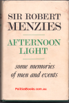 Afternoon Light - Sir Robert Menzies - USED